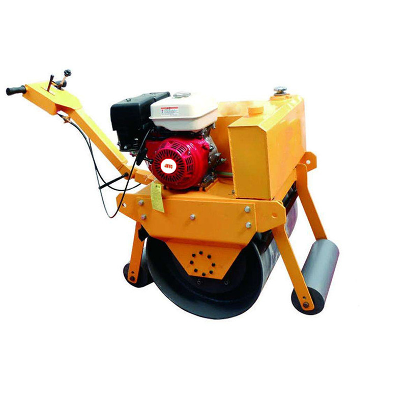 Factory direct sale low price hand-held single drum compactor road <strong>roller</strong> on stock