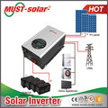 hybrid solar inverter MPPT Solar Inverter 48vdc to 220vac 10KW with Cooper Transformer inverter