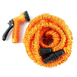 Cheap used cars for sale Garden Hose Pipe Latex25FT/ 50FT /75FT/ 100FT Expandable Garden Hose with Brass Fitting & spary gun