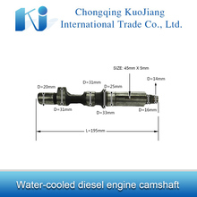 Water-cooled diesel engine parts R175 camshaft with cheap price
