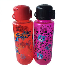 Plastic sport gym water canteen bottle