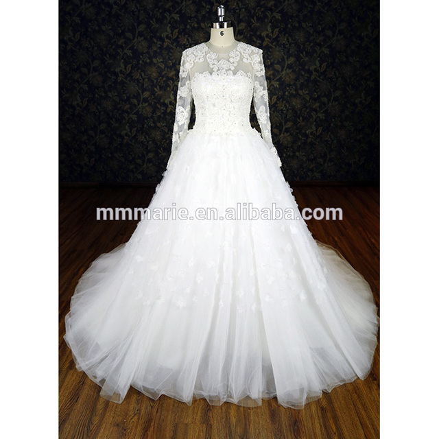 shops mother of the bride outfits detachable sleeve applique long ball gown bridal wear wedding dresses