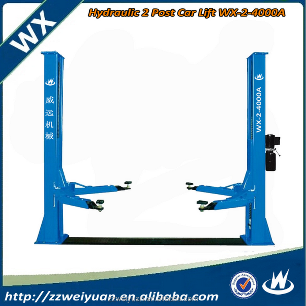 2016 Hot Sales Used Car Hoist Lift/Heavy Duty Two Post Car Lift/Car lift auto WX-2-4000A