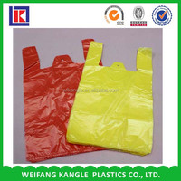 cheap fashion design shopping plastic carry bag design for shopping