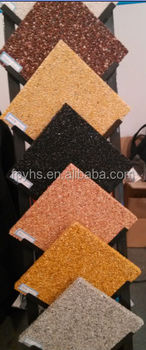gravel of natural pebble stone cobble type
