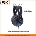 iSK High Quality monitoring fashion headphone