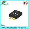 1.27mm HDS 3 Position SMD Mini Dip Switch Lead Free