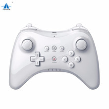 For Wii U Pro Controller Wireless Rechargeable Bluetooth Dual Analog Controller Gamepad for Nintendo Wii U with USB Charge cable