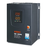 KEBO wall mount type digital display stabilizer 3000va