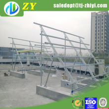 High quality solar mounting structure and solar light stand made in China
