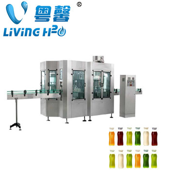 Automatic juice filling and closeing machinery