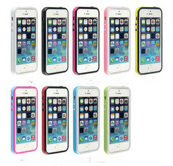 Ultra Thin Bumper Case for iPhone 6 ,Flexible TPU + Hard PC case for iPhone 6/6 Plus