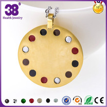 Wholesale Price Bio Solar Energy Pendants, Gold Locket Pendant
