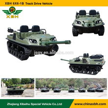 XBH 6X6-1B Track Drive Vehicle 6 wheels anfibio atv gasoline climbing go-anywhere vehicle ATV