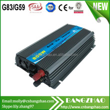 Small Power Grid Tied Solar Inverter with 1000W 10.8-28VDC