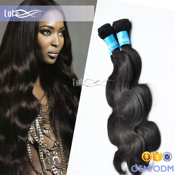 Ail Express Wholesale 100% Virgin Malaysian Body Wave Hair Extension