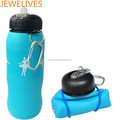 Small manufacturing ideas silicone folding water bottle