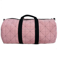 3 colors choice high-end neoprene embroidery fashion women's travel duffle bag for ladies
