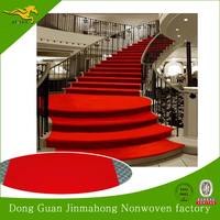 100% polyester needle punched hotel banquet hall floor carpet