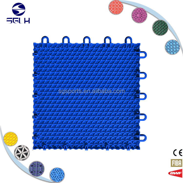 Outdoor sports flooring plastic basketball tile wedding tent
