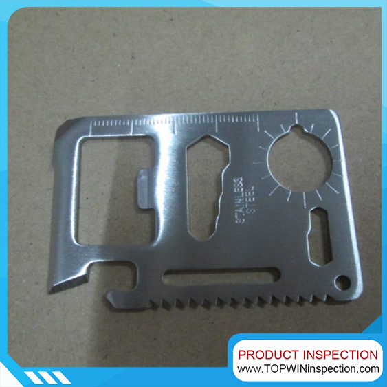 Multi-Tool Survival Card Inspection agency in China