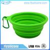 BPA Free High Quality Portable Silicone Drinking Bowl For Dogs
