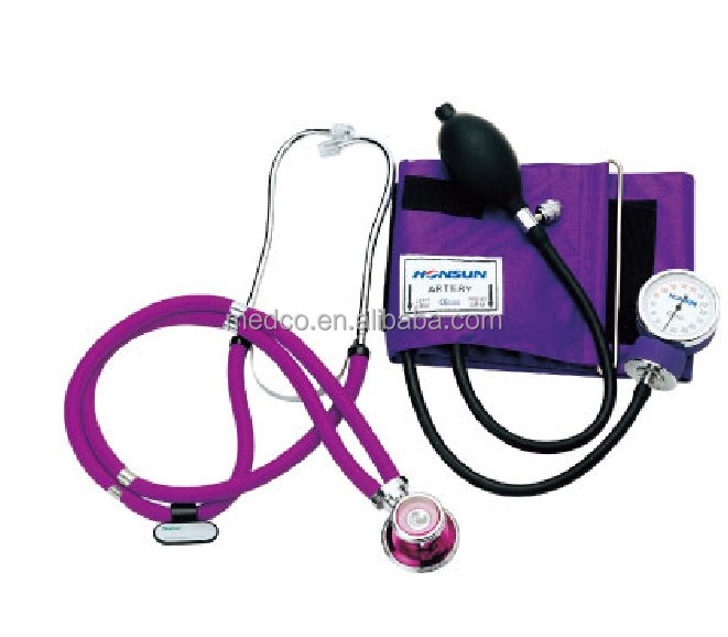 MK-50D High quailty Blood Pressure Monitor Medical Best Professional Aneroid Sphygmomanometer WIth Stethoscope