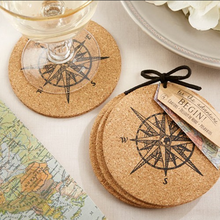100% Waterproof Cork Backing Cardboard Coaster Absorbent Paper Coaster