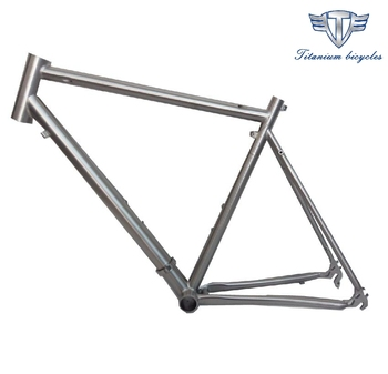 buy titanium road bike frame from china, XACD titanium road bicycle frame with 700C, cheap titanium road bike frame