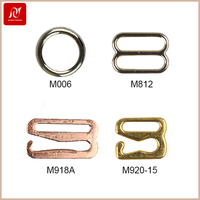 High quality movable slide strap adjuster metal bra buckle for bra accessories