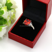 The newest design in stainless steel single stone finger ring