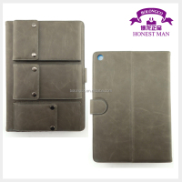 waterproof case for ipad air pu leather case for tablet pc