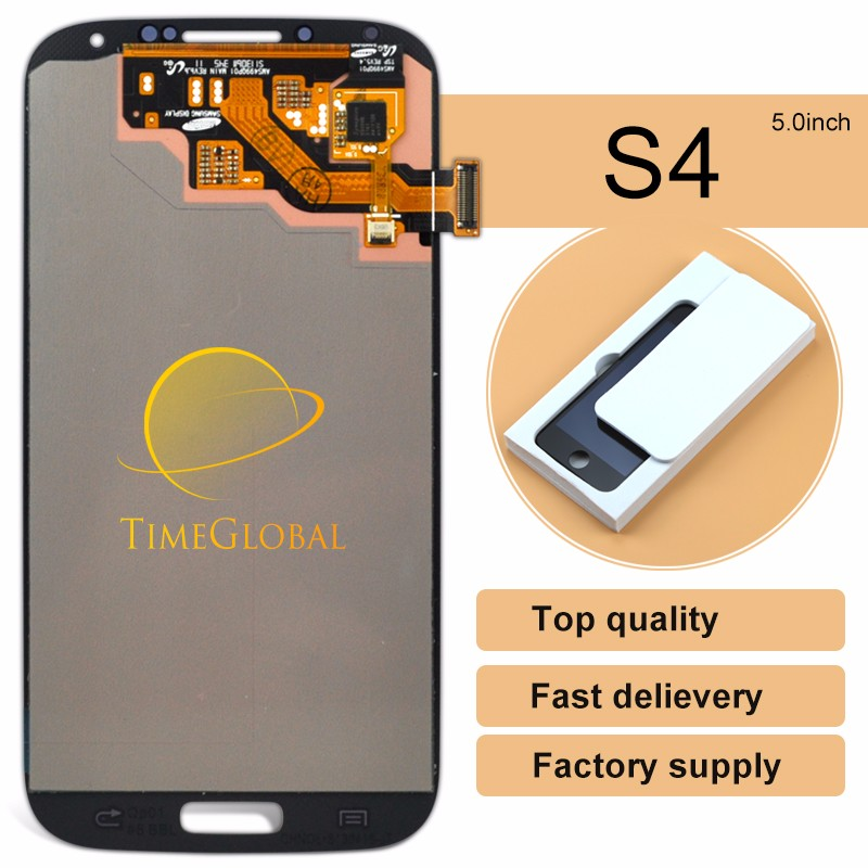 China wholesale products for samsung s4 i9500 unlocked <strong>lcd</strong> + touch repair OEM quality(without frame) (Warranty: one year)