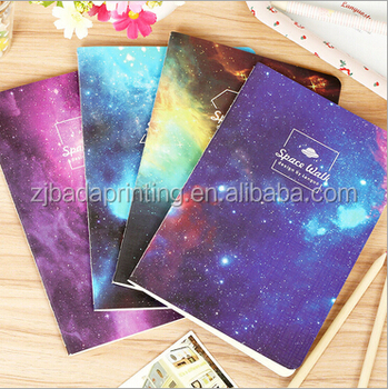 2016 Notebook Wholesale/Cheap Sewing Binding Paper Notebook/Custom Notebook