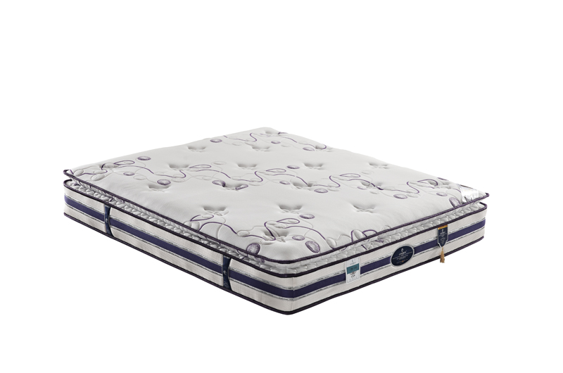 Sleep well memory foam pocket coil spring mattress GZH-008