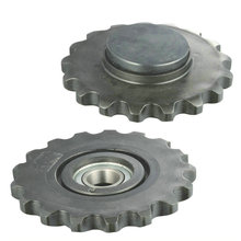 High quality plastic lower idler sprocket 032012 including bearing for combine harvester