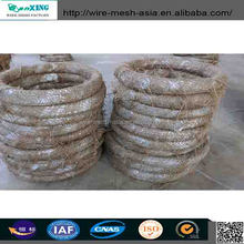 galvanized binding wire/electro galvanized iron wire/soft rebar tie wire