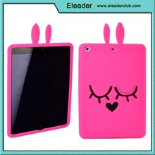 3d silicone cartoon case for ipad mini