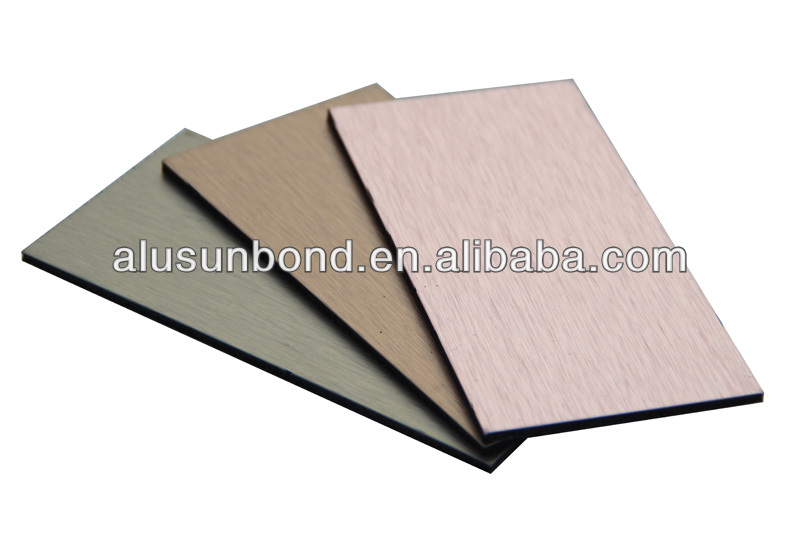 4*0.30mm Aluminum composite panel for exterior wall decoration