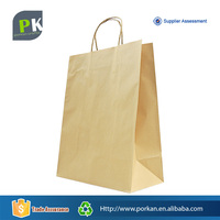 Agriculture Customize Shopping Kraft Paper Craft Papier Bag for Food