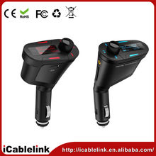 Car MP3 FM Transmitter support SD/MMC in red ,blue,black