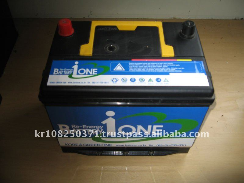 Green One Regenerate Car Battery (12V 100Ah)