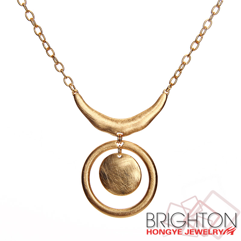 Factory Beautiful Gold Pendants Necklace N1-57098-3000
