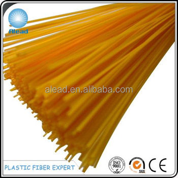 0.30mm PP plastic fiber made from 100% virgin raw material complying with EN71 safety regulations