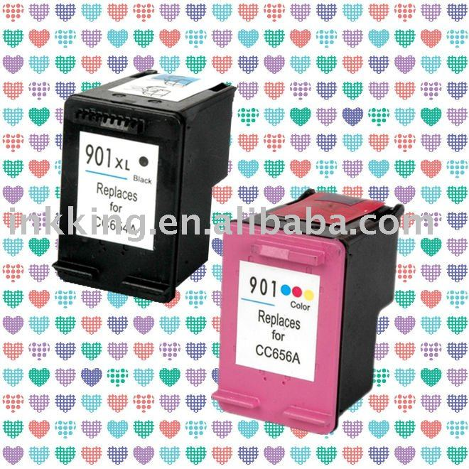 Remanufactured for HP901XL ink cartridge