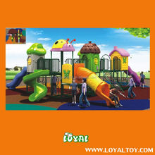 2016 outdoor wooden playground ,low price outdoor playground ,rocket outdoor playground equipment WITH LOWEST COST