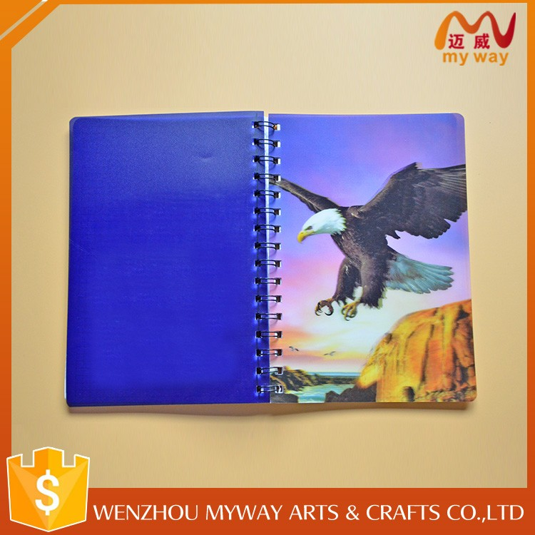 New design cute cover a5 notebook custom pages