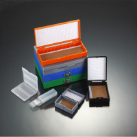 Microscope Slide Box Stores with 12 Places