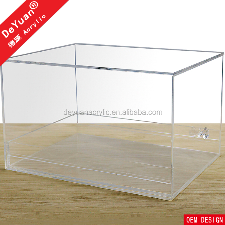 Clear Drop Front Shoe Box For Shoes