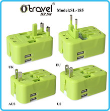Wholesale international colorful male to female industrial plug and socket with UK/USA/AU/EU plug